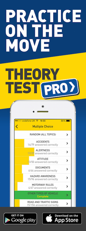 Theory Test Pro in partnership with Direct Driving Tuition
